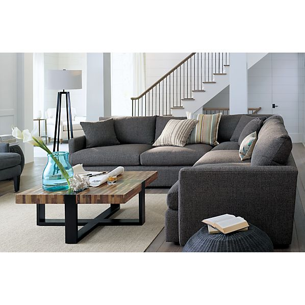 crate and barrel lounge sofa pilling legs replacement toronto linen