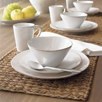 Marin White Dinnerware | Crate and Barrel