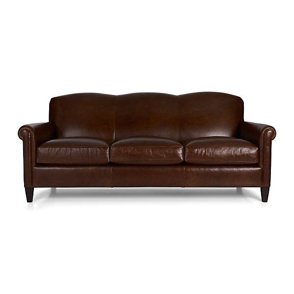 crate and barrel davis sofa leather reclining covers mcallister - gordon |