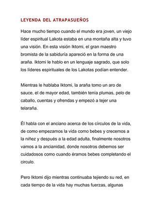 Calaméo Leyenda Del Atrapasueños