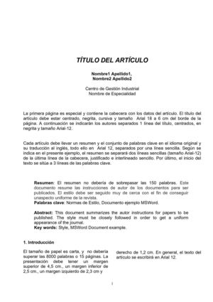 Calaméo PAPER FORMATO PARA PRESENTAR PROYECTO FINAL DE