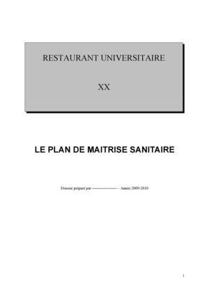 plan de nettoyage cuisine