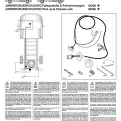 Wiring Diagram For Trailer Socket What Is A Sample Space Calaméo - Montage Instructie Kabelset Fiat Ducato X250 (2006-)
