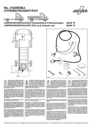 Calaméo  Montage instructie kabelset Fiat Ducato x250 (2006)