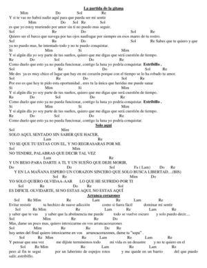 Que Lloro Acordes : lloro, acordes, Calaméo, Letras, Acordes