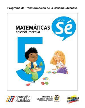 Calamo  5 Matematicas Libro De Estudiantes
