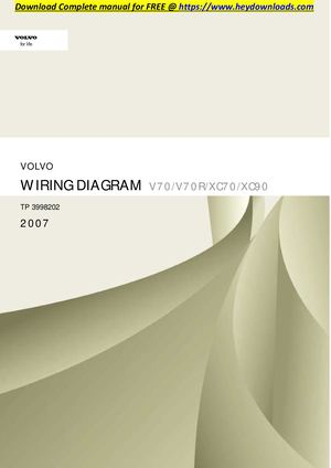 volvo v70 wiring diagram 2007 honda xrm 125 calameo xc70 v70r xc90