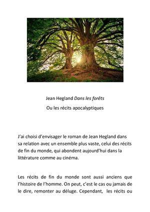 Dans La Forêt De Jean Hegland : forêt, hegland, Calaméo, Forêts, Récits, L'apocalypse