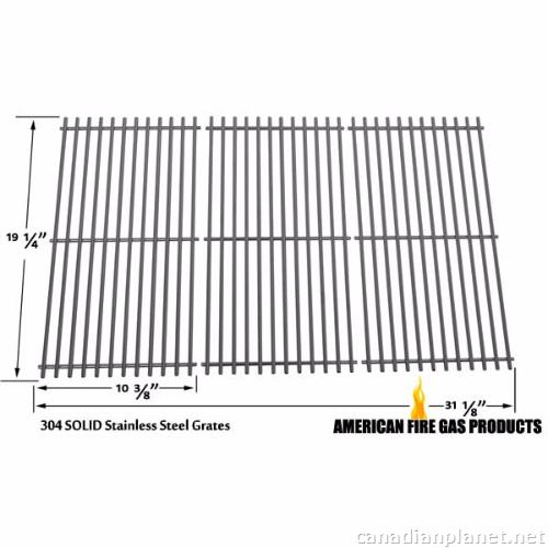 Find 3 Pack Stainless Steel Cooking Grid for Ducane Gas