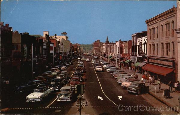 Hay Street Fayetteville NC Postcard