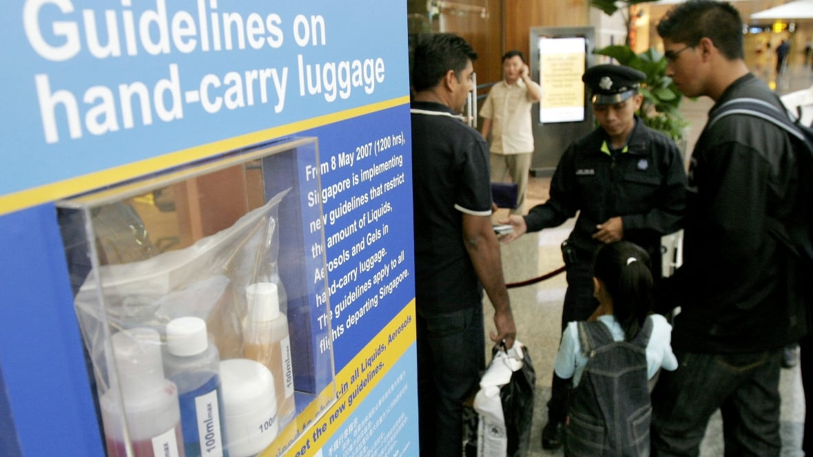 Airport security liquid restrictions to be eased