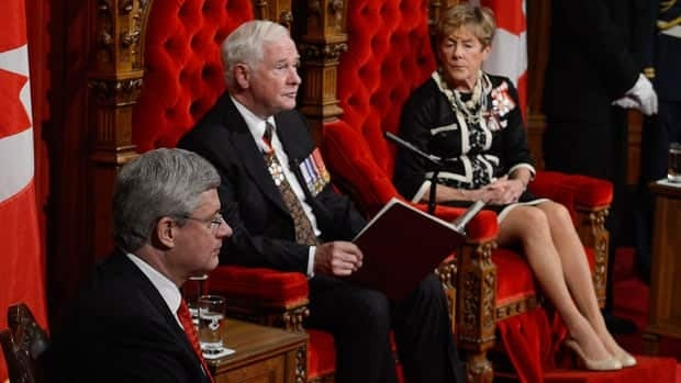 What was in the throne speech?