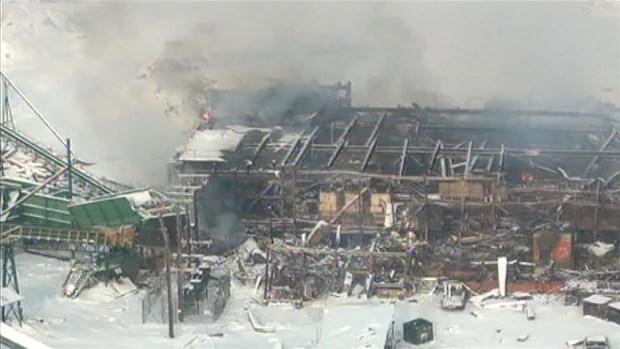 Burns Lake Steam Explosion Aftermath - via CBC