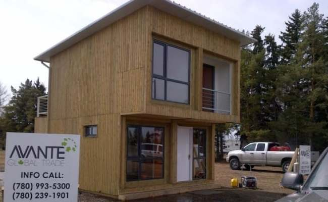 Builders Bring Container House Concept To Alberta