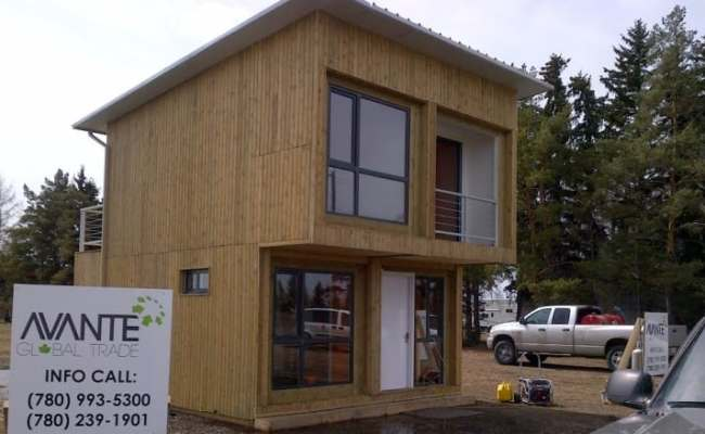 Builders Bring Container House Concept To Alberta Cbc News