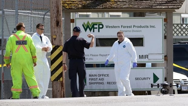 Former employee Kevin Douglas Addison was arrested after two people were shot and killed and two others were injured at the Western Forest Products sawmill in Nanaimo, B.C.