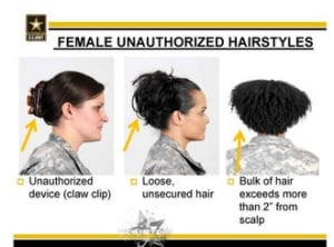 The Pentagon's New Target Hairstyles Worn By Black Women? World