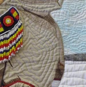 Veronica Puskas quilt (detail)