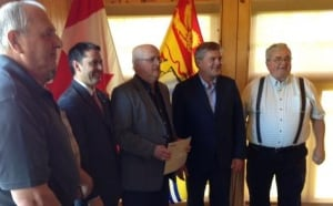 N.B. Premier David Award in Doaktown
