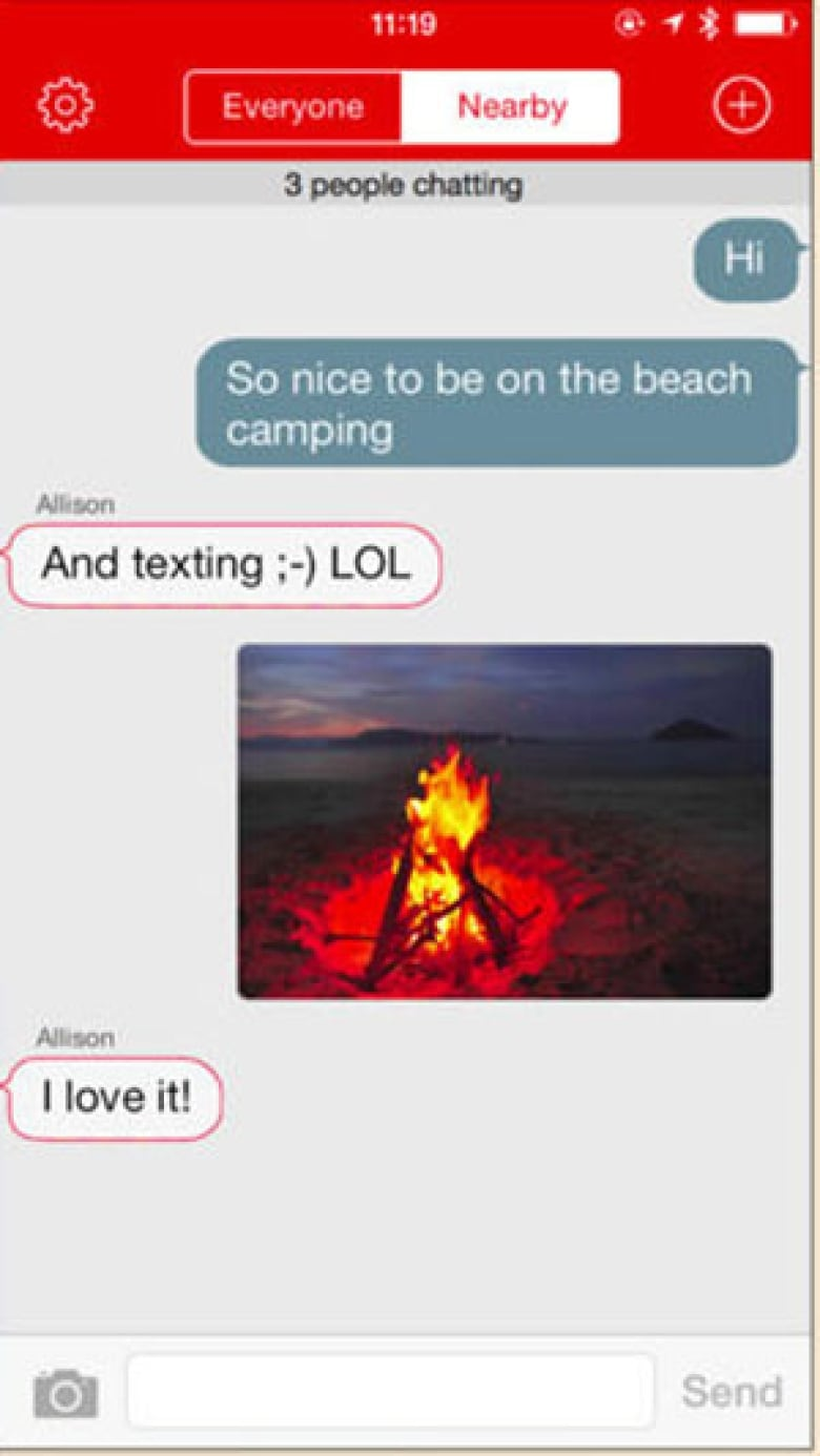 firechat off the grid