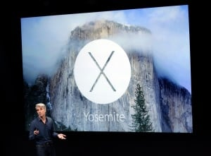 Apple OSX Yosemite Oct 16 2014 launch