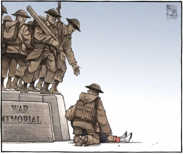 Bruce MacKinnon cartoon