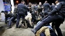 Berkeley Missouri police shooting crowd