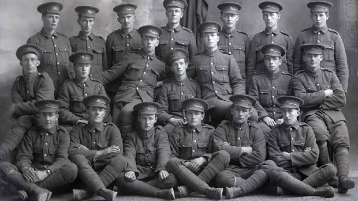 Canadian boy soldiers who fought in WWI  Home  The