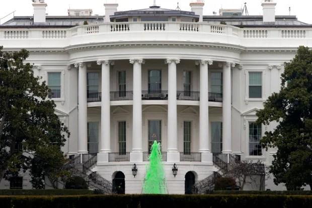 Obama St Patricks Day