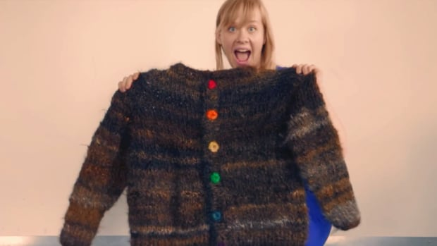 Gay Sweater Made With 100 Human Hair Takes Back The