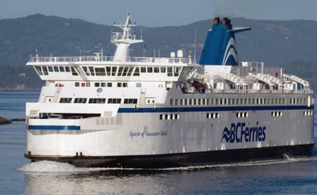 Bc Ferries To Ban Smoking Passenger Access To Closed Car