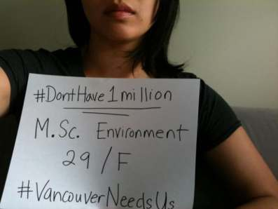 Vancouver residents take to Twitter to vent about sky high real estate prices with #DontHave1Million