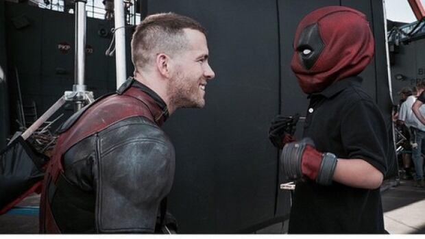 Ryan Reynolds Grants Childs Wish To Meet Deadpool In