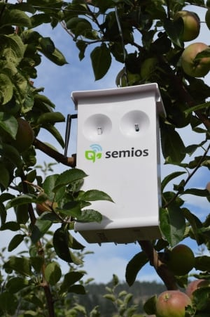 Semios pheromone dispenser