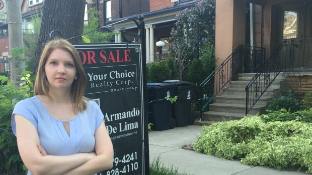Jessica Moorhouse gave up on the home ownership dream when she discovered houses in Toronto often went for tens of thousands of dollars over asking price thanks to bidding wars.