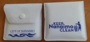 Pocket Ashtrays City of Nanaimo Cigarette