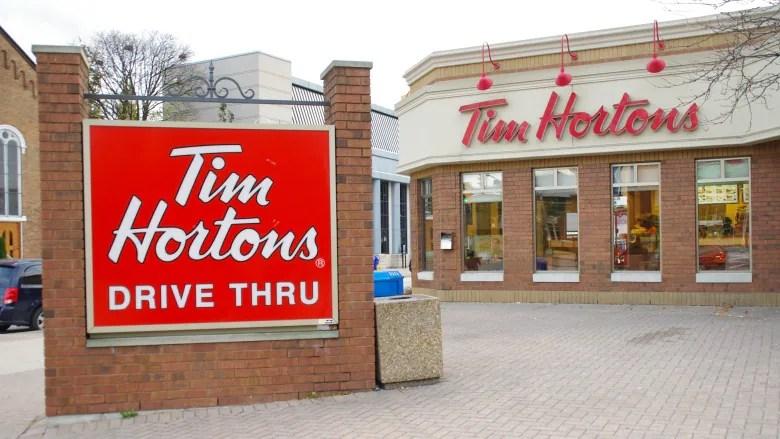 Tim Hortons Drive Thru Window