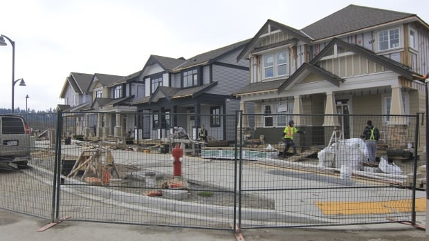A housing development south of Vancouver, where anecdotal evidence indicates foreign investors have helped push property prices higher. But as Don Pittis says, poor data on how much of the investment in Canadian real estate is 'hot money' means we may be unprepared when foreign investment slows or stops.