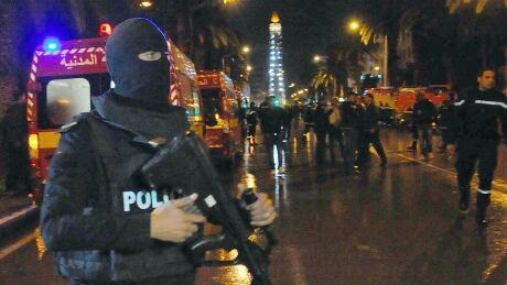 APTOPIX Tunisia Explosion
