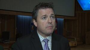 Energy Minister Michel Samson
