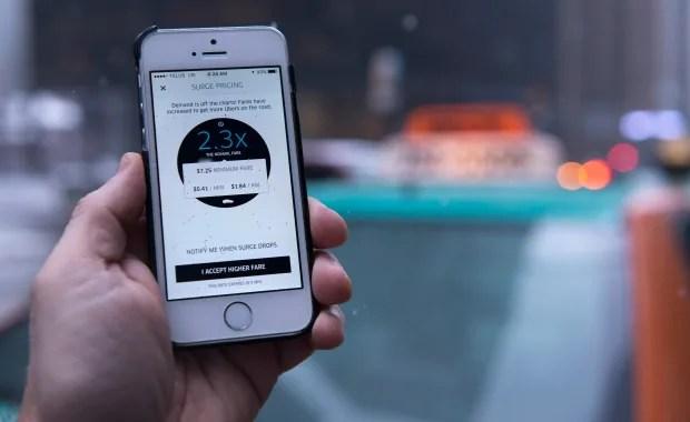 Uber Surge Pricing 20160112