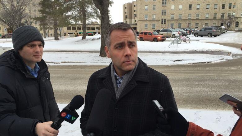 NDP Leader Cam Broten