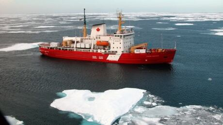 Canadian Coast Guard icebreaker Pierre Radisson
