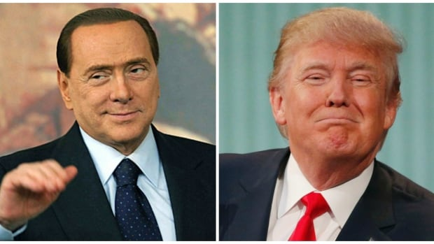 Image result for trump berlusconi