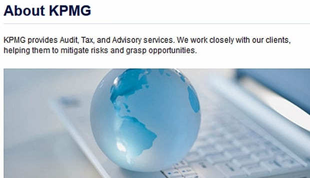 KPMG blurb