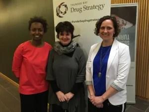 Dr. Naana Jumah, Margaret Leslie, Cynthia Olson