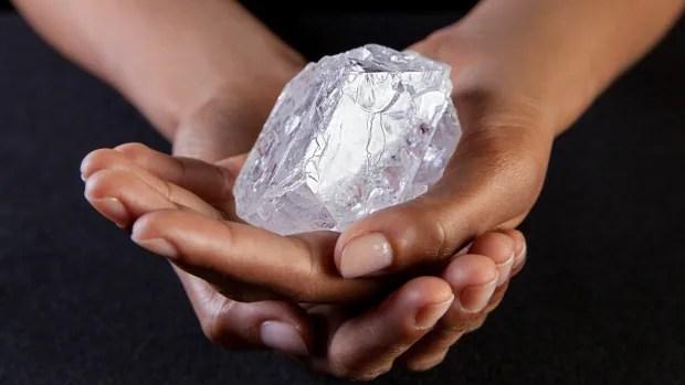 Lesedi la Rona diamond the size of a tennis ball could fetch 90M  CBC News