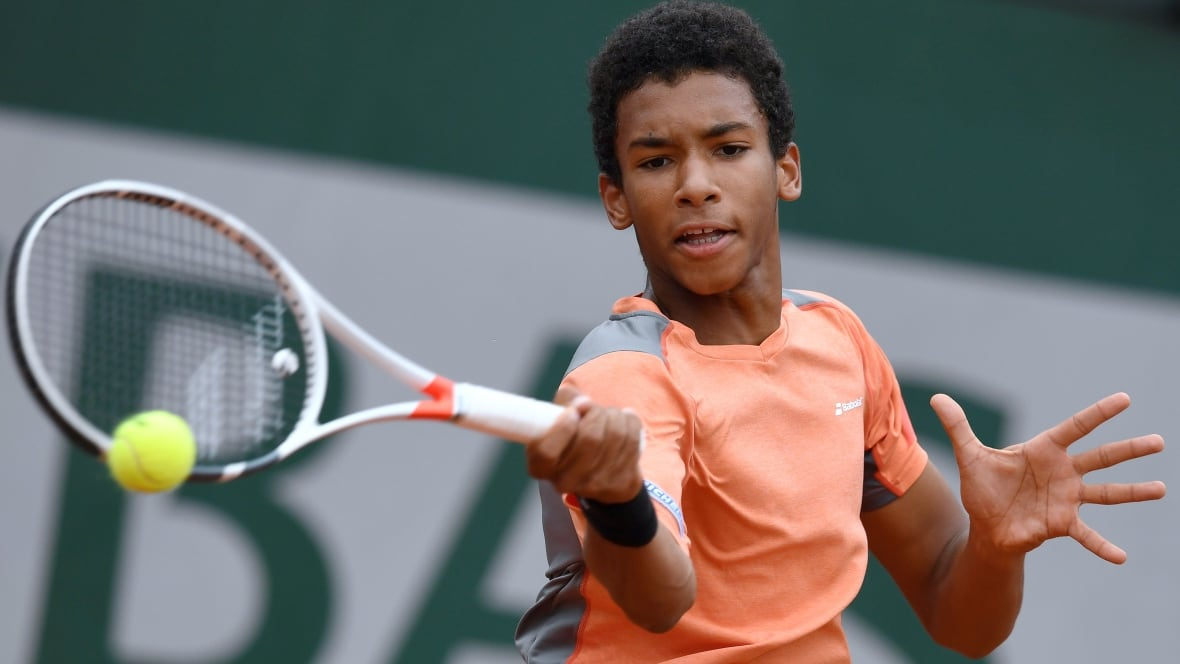 French Open Canadas Felix Auger Aliassime Falls In Boys