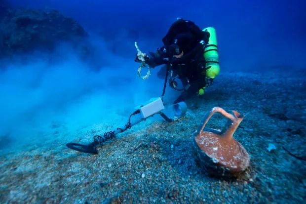 Greece Roman Wreck