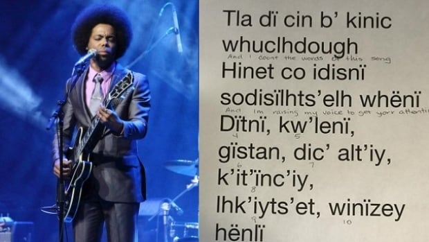 Cuban-Canadian singer Alex Cuba had the lyrics of one of his songs translated into the Wit'suwet'in language for a Canada Day performance on Parliament Hill.